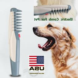 Electric Pet Grooming Comb Groomer Hair Scissor Trimmer For