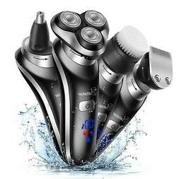 Hatteker Electric Shaver For Men Rotary Shaver Electric Razo