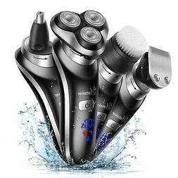 Hatteker Electric Shaver For Men Rotary Shaver Electric Razo