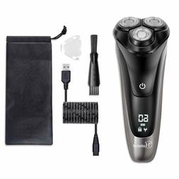 Electric Shaver For Men Rotary Shaver Electric Razor Wet Dry