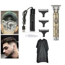 Electric Trimmer Boys Men's Clipper with Charger Cape Kit fo