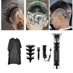 Electric Trimmer Boys Men's Hair Clipper & Charger Cape Kit