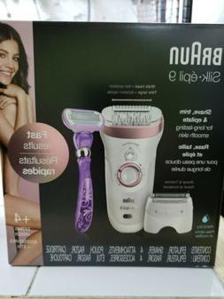 Braun Epilator for Women, Silk-épil 9 9-870 for Hair Remova