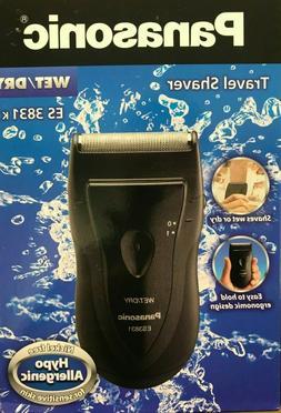 Panasonic ES3833S Pro-Curve Wet/Dry Travel Shaver with Case,