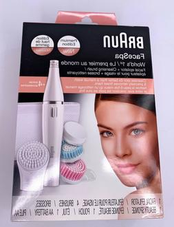 Braun FaceSpa Facial Epilator & Cleansing Brush, 851