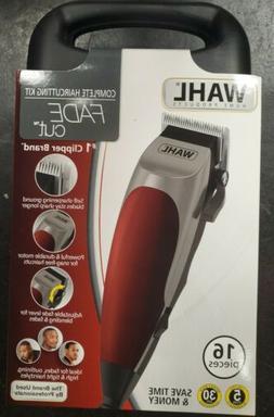 WAHL Fade Cut 16 Piece Haircutting Kit Hair Trimmers Clipper