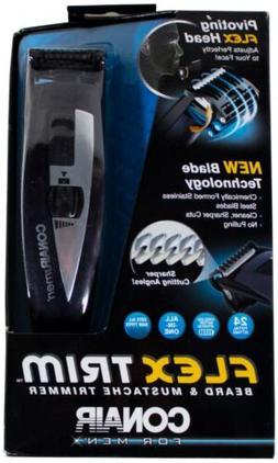 Conair Flex Trim Beard And Mustache Trimmer - Battery