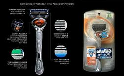 Gillette Fusion Proglide Silvertouch Manual Razor With FlexB