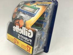 Gillette Fusion Proglide5 Men's Razor 12Cartridges.