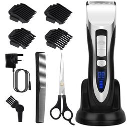 ELEHOT Hair Clipper Cordless Rechargeable Hair Clippers and