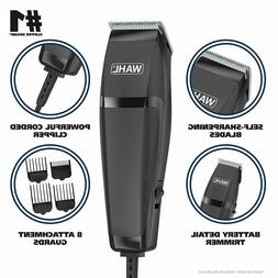 Wahl Hair Clipper with Trimmer Barber Cutting Pro Profession