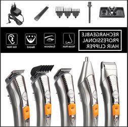 KEMEI Hair Cut Clipper Beard Mustache Shaving Machine Trimme