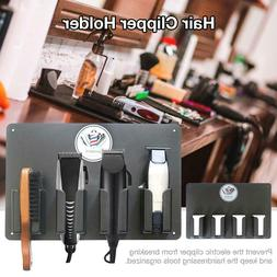 Hair Electric Clipper Storage Stand Rack Holder Barber Salon