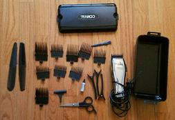 CONAIR HAIR TRIMMER/CLIPPERS, WITH ACCESSORIES, USED ONCE, L