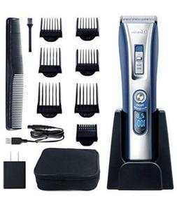 HATTEKER Hair Trimmer Cordless Hair Clippers Beard Trimmer F