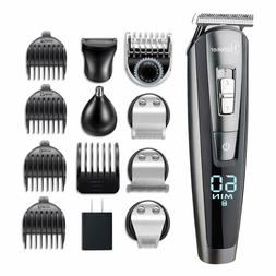 Hatteker Beard Trimmer Kit For Men Cordless Mustache Trimmer