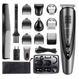 Hatteker Electric Hair Trimmer Shaver Cutter Clipper Mens Be