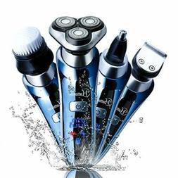 Hatteker Electric Shaver for Men Rotary Shaver Razor Wet Dry
