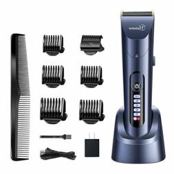 Hatteker Hair Clippers For Men Cordless Hair Trimmer Beard T