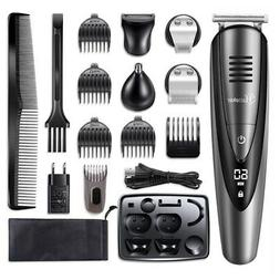 Hatteker Men's Electric Trimmer Cordless Beard Hair Trimmer
