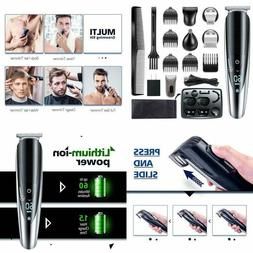 Hatteker Mens Beard Trimmer Grooming Kit Hair Trimmer Mustac