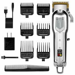 Hatteker Mens Hair Clippers Professional Cordless Hair Trimm