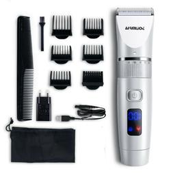 Hatteker Professional Cordless Haircut Kit Clipper Rechargea