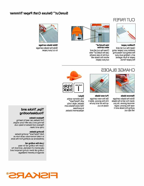 Fiskars 12 Deluxe Craft Paper