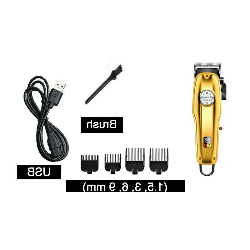 Kemei 1986 All-metal Professional Trimmer, Gold Color