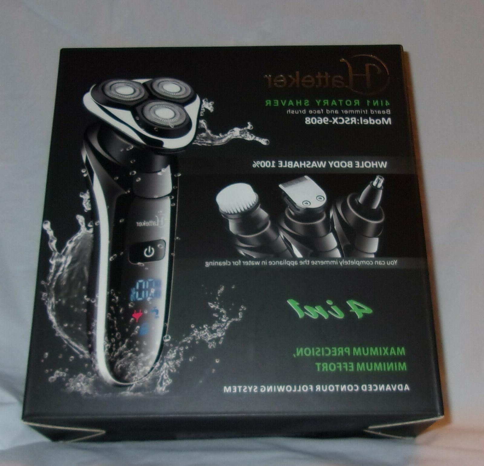 Hatteker 4-in-1 Model Shaver Beard & Trimmer Brush