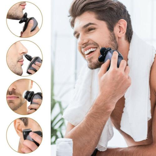 5 IN 4D Bald Head Shaver Beard Trimmer