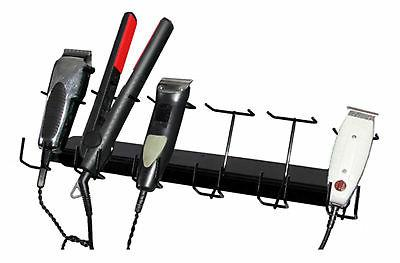 6 Slot Barber Buddy Clipper Rack Trimmers Styling Tools Hair