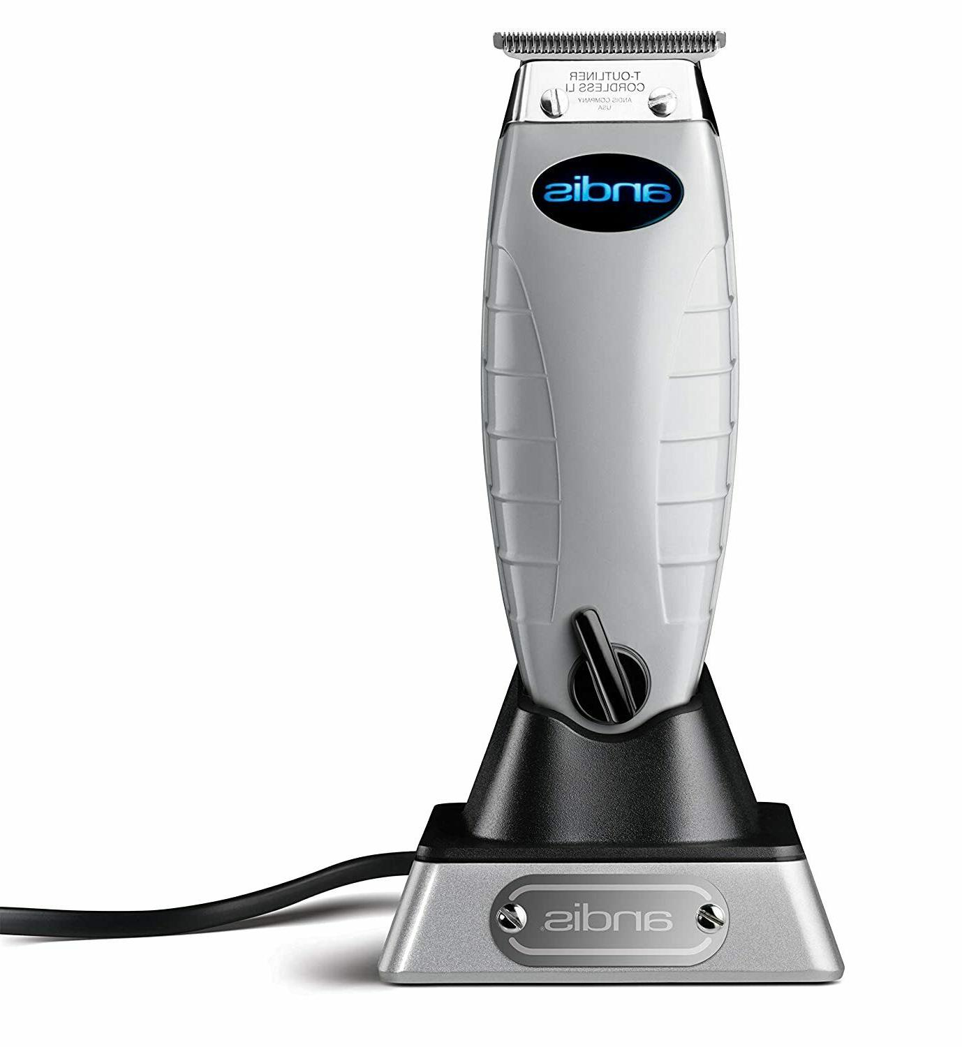 Andis Professional Cordless T-Outliner Beard/Hair Trimmer Volts