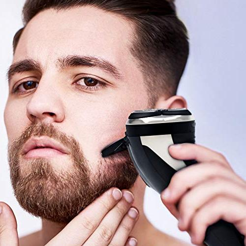 Hatteker Electric Razor Men trimmer USB Rechargeable