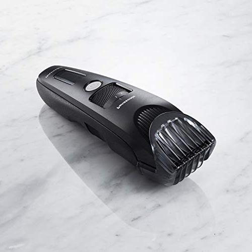 Panasonic Beard Men ER-SB40-K, Cordless/Corded Precision Power, Hair Comb and 19