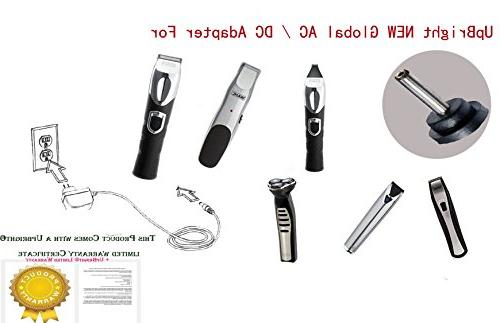 UpBright 4.2V-5V Adapter For Corp S003HU0420060 97581-1105 9854-600 PPL H12 79600-2101 Trimer Shaver 600mA-1A Tip