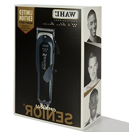 Wahl Professional Series Cordless Senior Clipper – Great Professional Stylists and Barbers 70