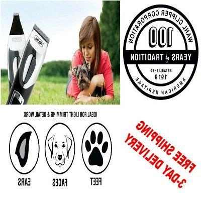 animal touch rechargeable pet trimmer