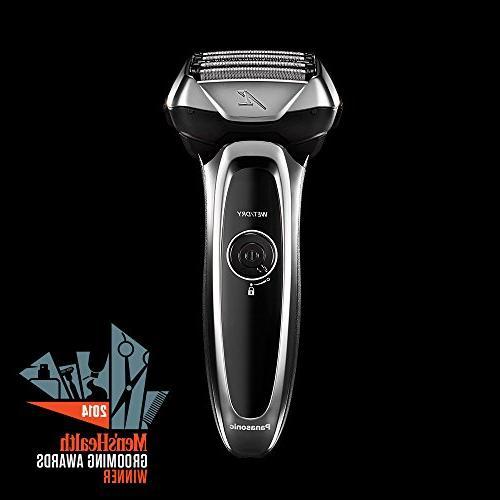 Panasonic Arc5 Men's 5-Blade Shave Wet/Dry Convenience, ES-LV65-S