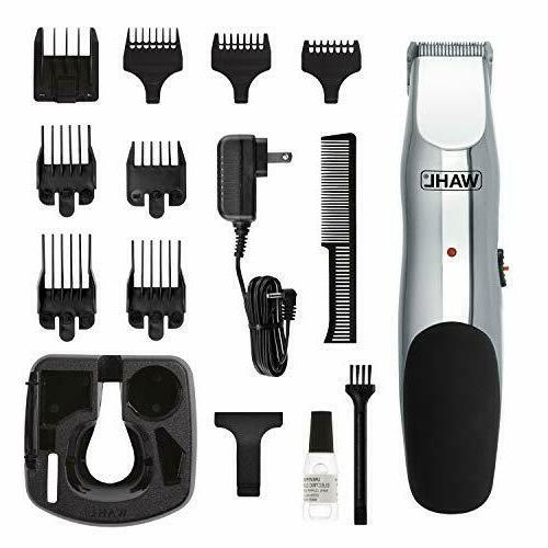 Wahl Beard and Mustache Trimmer Cordless Rechargeable Multip