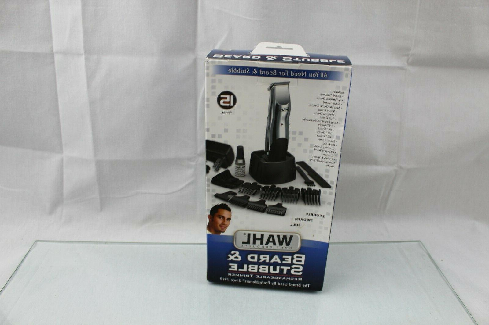 WAHL Mustache #9916-4301 Rechargeable Groomer