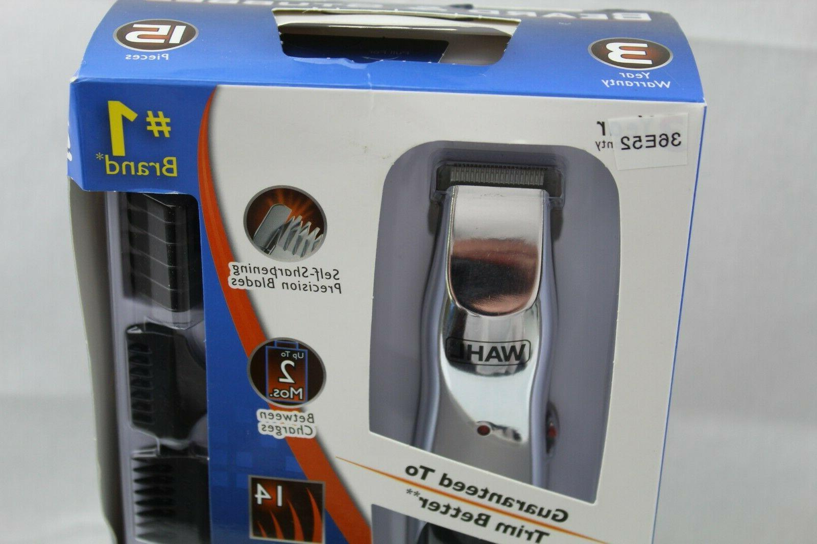 WAHL #9916-4301 Rechargeable Cordless Groomer