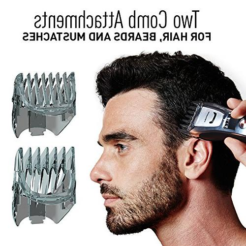 Panasonic Beard and Mustache Trimmer Hair for Men, 5.7 Ounce