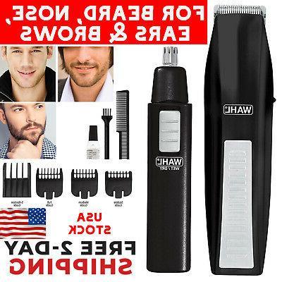 beard mustache trimmer man cordless nose hair