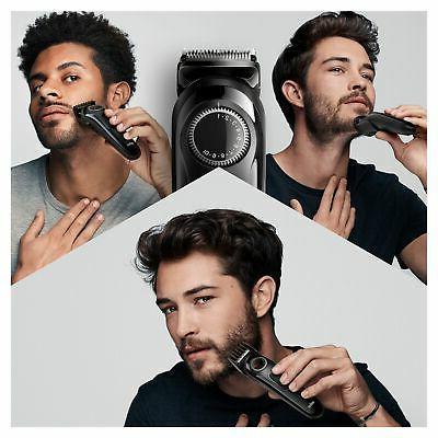 Braun - Beard Trimmer BT3222 - Black/Grey