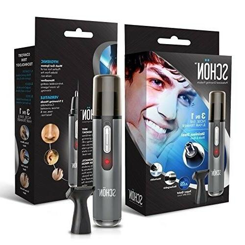 best rechargeable nose hair trimmer premium quality