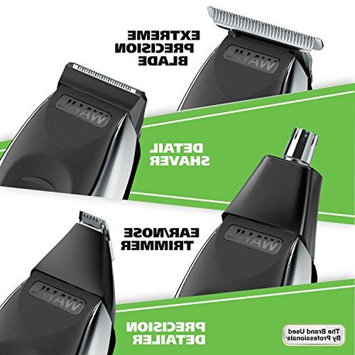 Wahl Wet/Dry Trimmer Kit, Lithium Ion One Grooming Kit for Beard, and Body, Waterproof Cordless