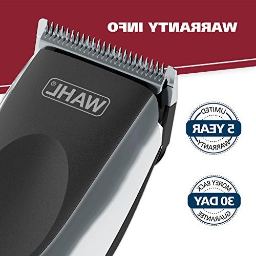 Wahl Clipper Haircutting 79434 Cord/Cordless Rechargeable Grooming for Haircutting and Beard Trimming