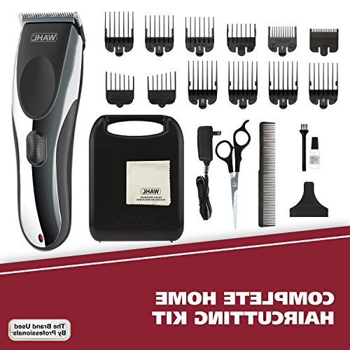 Wahl Clipper Rechargeable Kit, for Haircutting Beard Trimming