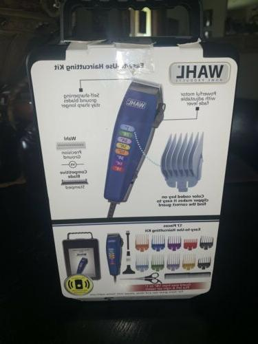 Wahl Color Code Professional Trimmers Complete Kit
